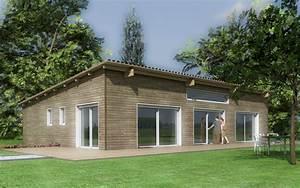 Maison Clé En Main Pas Cher : plan maison bois greuez p rigord maisons bois ~ Premium-room.com Idées de Décoration