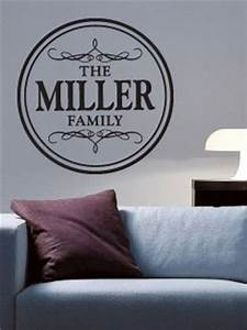 custom family vinyl wall lettering words art rub on letters With custom rub on lettering