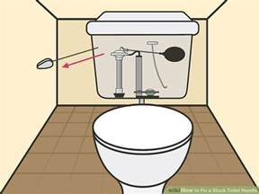 3 ways to fix a stuck toilet handle wikihow