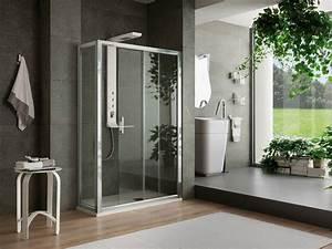 une douche a litalienne dans une salle de bain design With salle de bain italienne design