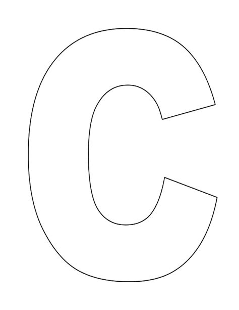 c template template letters template cut out free printable letter tracing worksheets for kindergarten