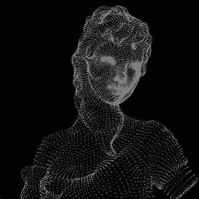 Illusion Spinning Lady Artifacting