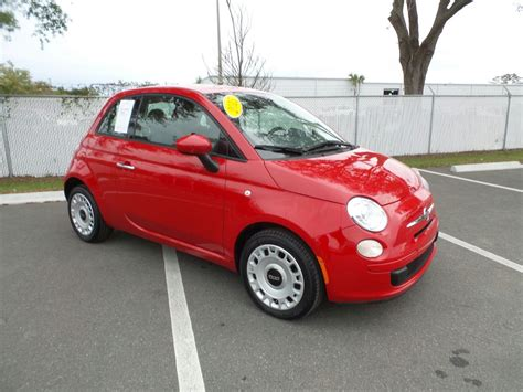 Fiat Pre Owned by Pre Owned 2015 Fiat 500 Pop Hatchback In Jacksonville