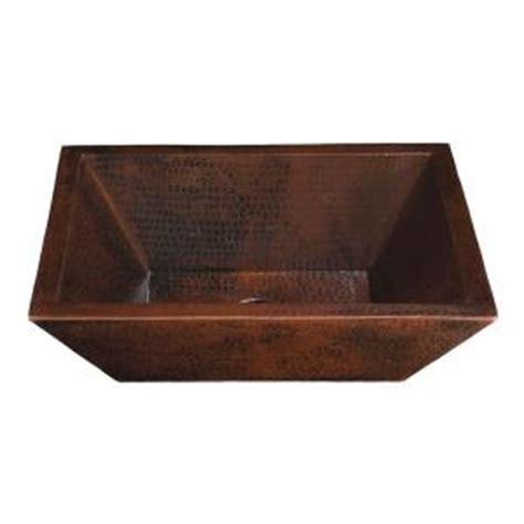 home depot copper sink thompson traders vessel sink in aged copper bpv 1914bc
