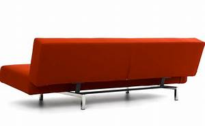 Sleeper sofa with 2 cushions hivemoderncom for 2 cushion sleeper sofa