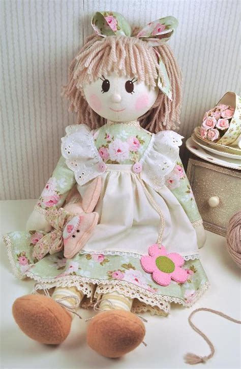 holly rag doll pattern  craftsy