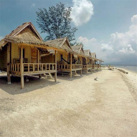 Bungalows  Gili Air Bali Bungalows Pilotis Beachfront