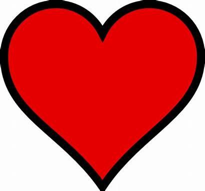 Transparent Heart Clipart Background Clip Hearts Cliparts