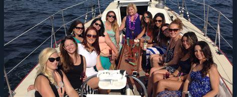 bachelor bachelorette parties sightsailing  newport