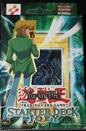 Joey 1st Edition Starter Deck  Yugioh! Sealed Products