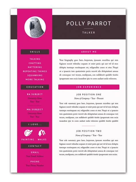 Resume Template Indesign by Free Indesign Templates 40 Beautiful Templates For