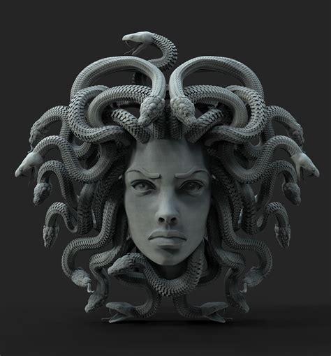 3D printable model MEDUSA jewelry | CGTrader