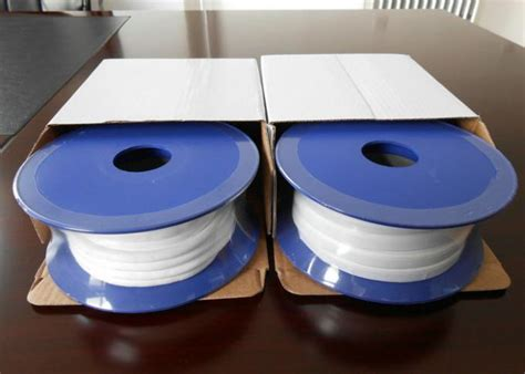 Chemical Resistance Ptfe Gasket Tape 3mm X 0.5m / Expanded