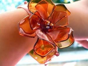 Ideas de pulseras con botellas de plástico recicladas: Hermosas pulseras con PET Ecología Hoy