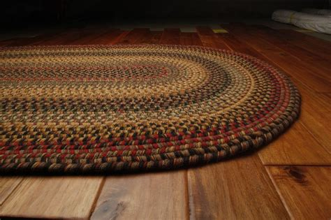 Homespice Budapest Wool Braided Area Rug Country Cottage
