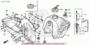 Honda Xr650l 1993  P  Usa Fuel Tank