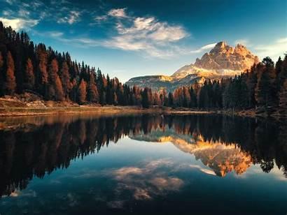 Pc Desktop Landscape Italy Autumn Lago Antorno