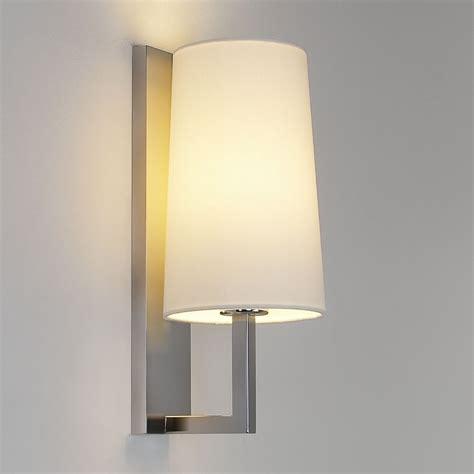 astro lighting 7022 riva 350 ip44 bathroom wall light in matt nickel