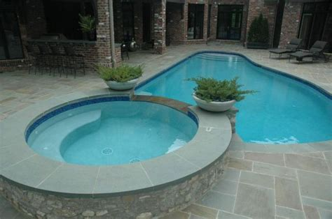 pool tubs small pool and tub combo yard and pool ideas in