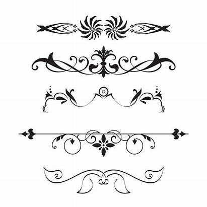Divider Line Clipart Dividers Decorative Banner Clip