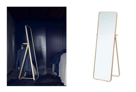 tablette cuisine ikea tentation design miroir sur pied ikornnes d ikea