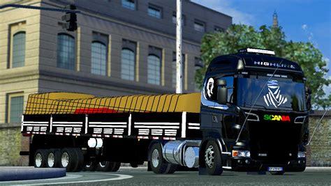scania highline  trailer ets mods
