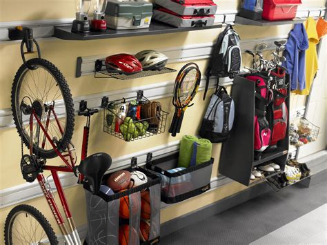 Wall Organization System & Accessories