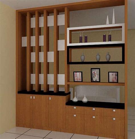 divider kayu ruang tamu desainrumahidcom