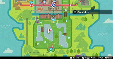 pokemon sword shield axews eye map den location gamewith