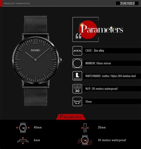 jam tangan wanita skmei waterproof skmei jam tangan pria milanese premium stainless steel