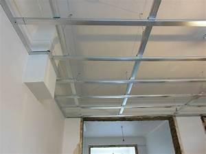 Pose D Un Faux Plafond En Ba13 : installation de faux plafonds bruxelles ~ Melissatoandfro.com Idées de Décoration