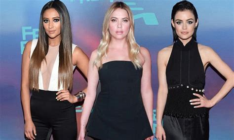 Shay Mitchell promotes final season of Pretty Little Liars ...