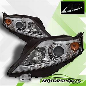For 2010 2011 2012 Lexus Rx350 Suv Led Projector Chrome
