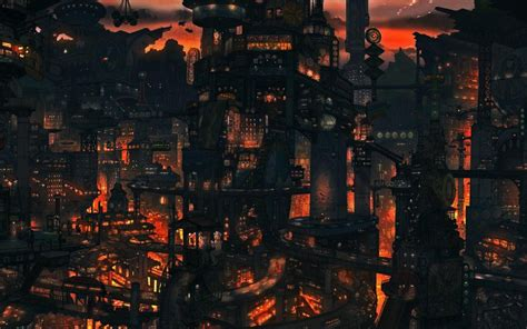 Anime Hd Scenery Wallpapers - anime scenery wallpaper 48 images
