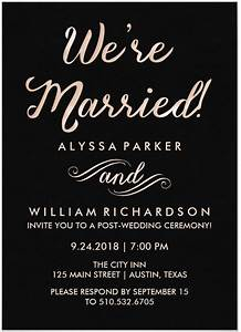 21 beautiful at home wedding reception invitations for Invitations for destination wedding receptions at home