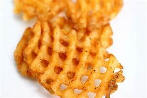 Black Bean Avocado Waffle Fry Bites