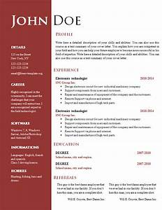 Free creative resume cv template 547 to 553 free cv for Free cv resume template word