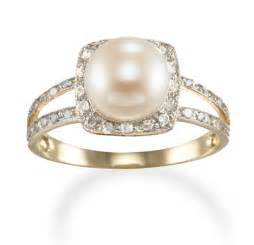 pearl engagement rings with diamonds ring designs pearl ring designs with diamonds