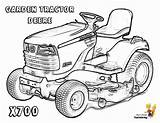 Deere Tractor Pages Coloring John Print Gator Printable Garden X700 Easy Harvester Boys Yescoloring Printout Hardy Backhoe Template sketch template
