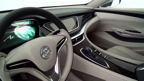 buick avenir concept interior design youtube