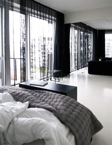 Black Bedroom Curtains by 25 Best Ideas About Black Curtains On Black