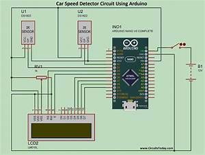 Project  Car Speed Detector Using Arduino