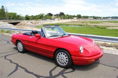 Sell Used 1994 Alfa Romeo Spider