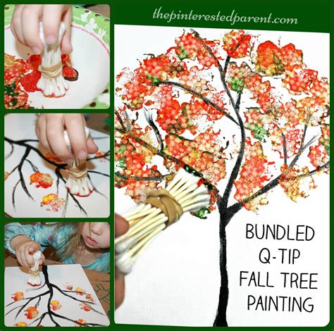 bundled q tip autumn tree the pinterested parent 978 | fdsgf Collage