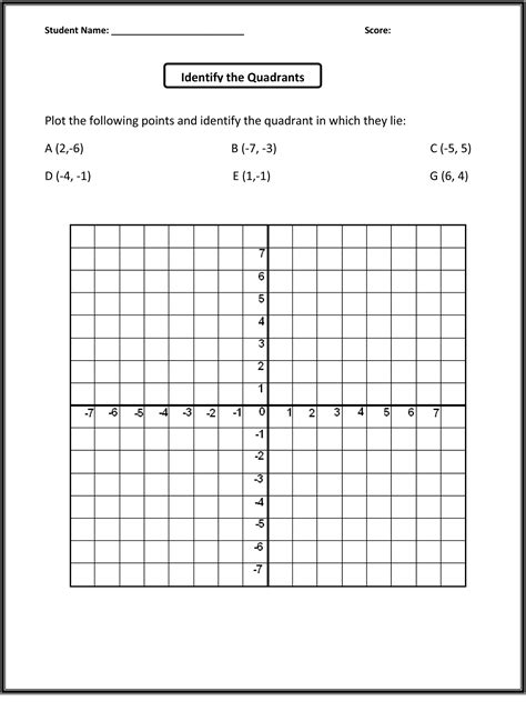 Math Grid Worksheets  Grade 4 Geometry Worksheets Free Printable K5 Learning3rd 4th 5th Math