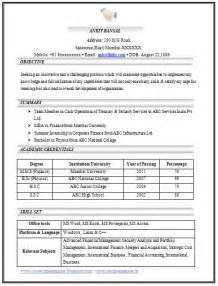 curriculum vitae format for freshers pdf 100 cv templates sle template exle of beautiful excellent professional curriculum vitae
