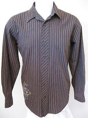 Bermuda Run Nc Golf mens long sleeve casual shirt  brown stripe modern fit 300 x 400 · jpeg