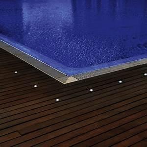 Spot Exterieur 12v : spot led 12v rvb avec telecommande pour abords de piscine ~ Edinachiropracticcenter.com Idées de Décoration