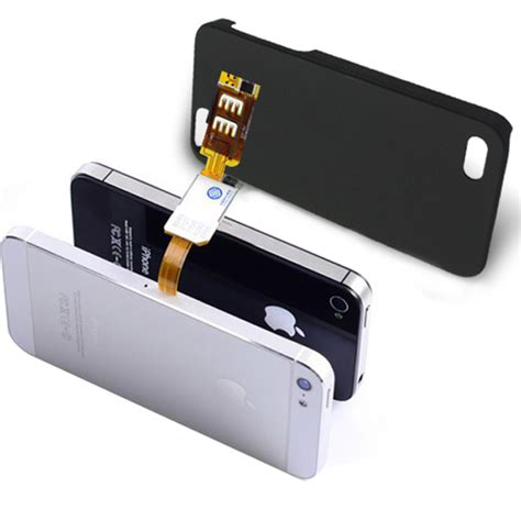 sim card from iphone 5 dual sim card chip holder adapter for iphone