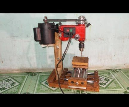 homemade mini wood mill router milling machine